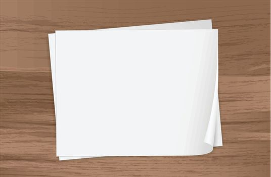 Illustration of the two empty papers