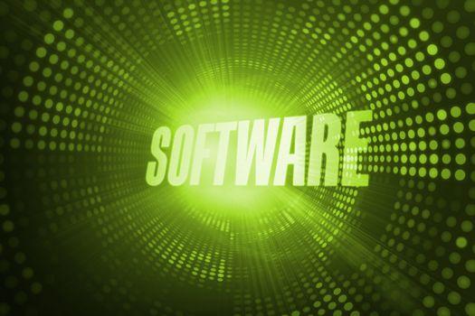 Software against green pixel spiral