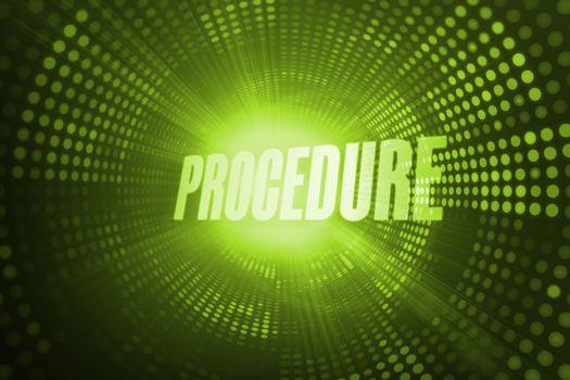 Procedure against green pixel spiral