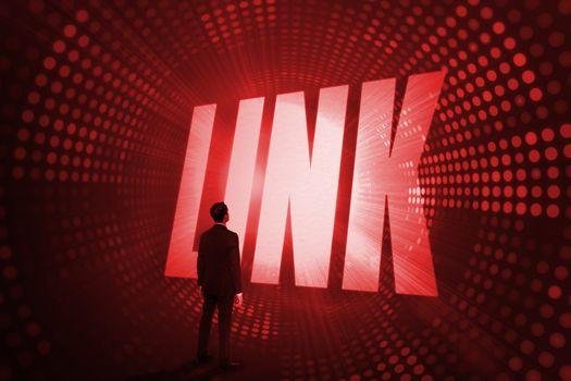 Link against red pixel spiral