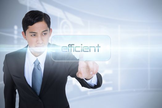 Efficient against futuristic technology interface