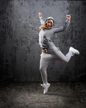 Urban hip hop dancer