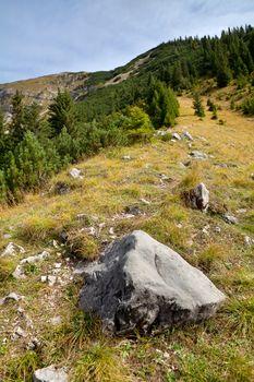 path to mountain peak