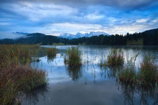 Geroldsee lake in Alps