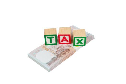 Tax block on money