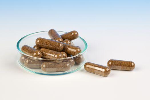 Alternative medicine tablets