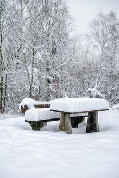 Snowy Service Area