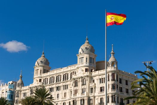Alicante Explanada de Espana casa Carbonell in Spain