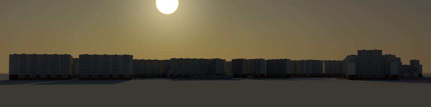 Residential district