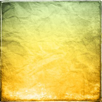 Grunge yellow background with space for text