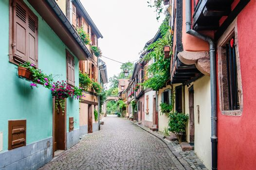 alley in a medieval town