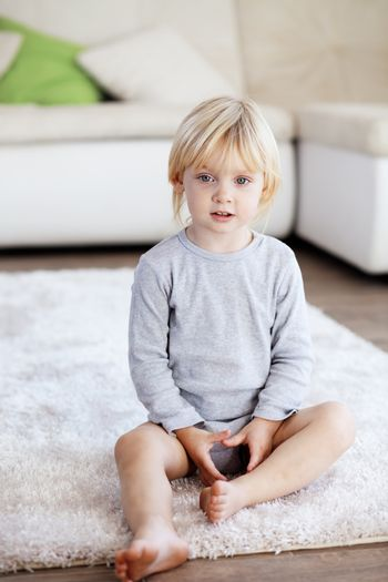 Child at home
