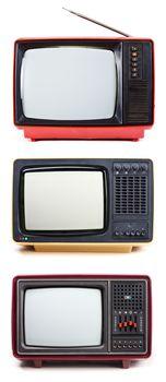 Vintage portable TV sets
