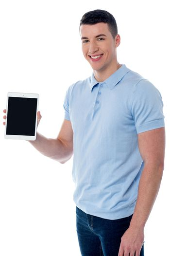This is my new tablet device