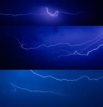 Set of lightnings
