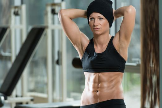 Fitness Woman With Six Pack