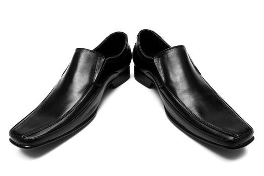 Black low shoes