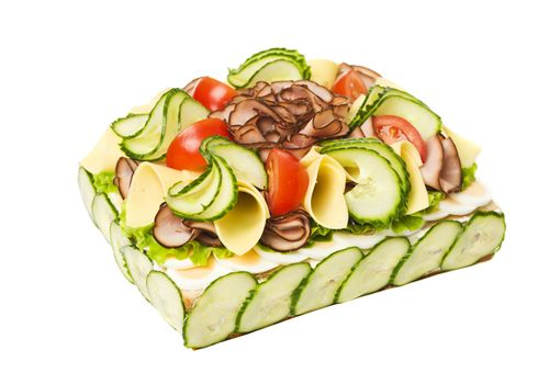 Sandwich Layer Cake