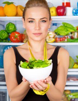 Organic nutrition concept