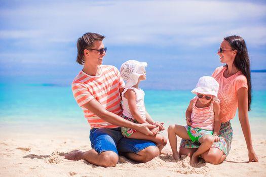 Happy family vacation