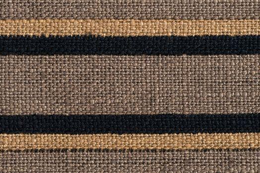 Brown horizontal fabric textures