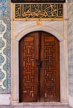 Door in Harem Courtyard
