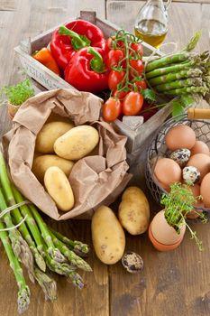 Fresh organic produce