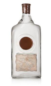 Vodka in a bottle