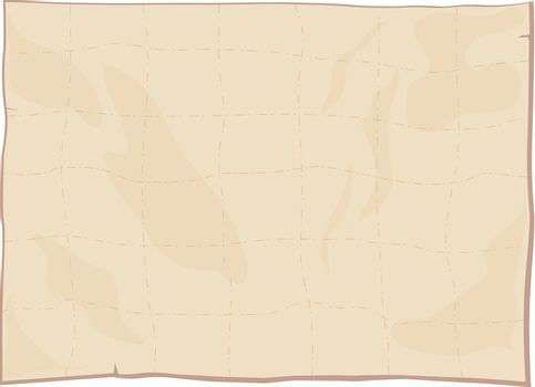 Illustraiton of a blank paper texture