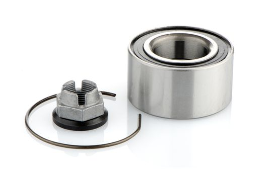 Steel bearing to the vehicle