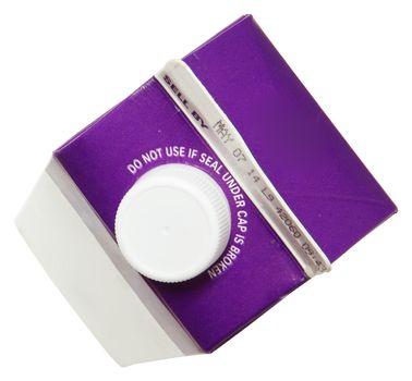 Blank Label Carton of Heavy Whipping Cream