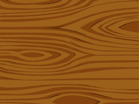 Illustration of a detailed wood texture