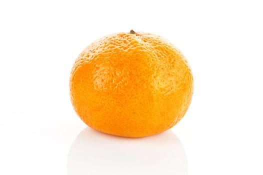 Tangerine isolated.