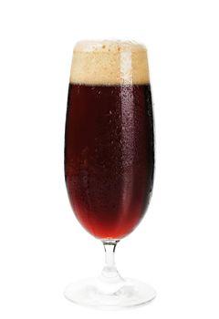 Dark beer.