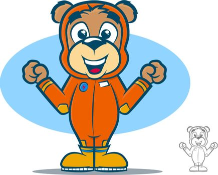 Flight Suit Bear