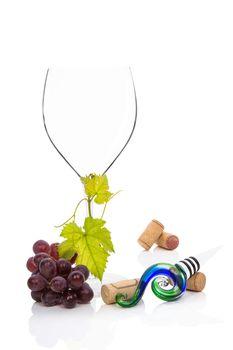 Luxurious wine drinking.