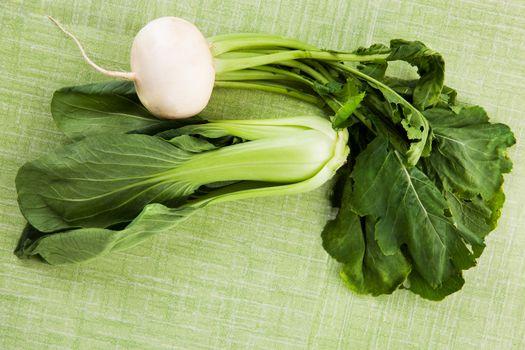 Fresh seasonal vegetables.