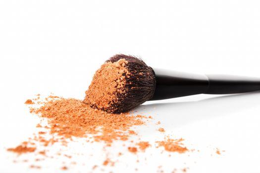 Beige Makeup background.