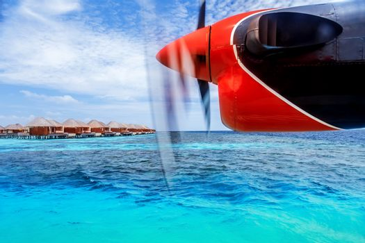 Charter to exotic resort