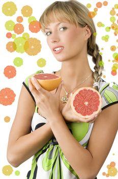 grapefruit and braid