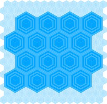 Blue Box Pattern