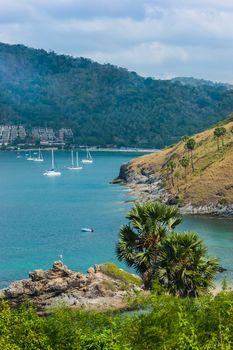 Beautiful view of Phuket island