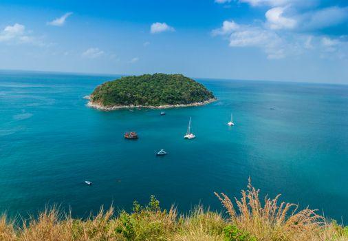 Small island in the sea near Phuket