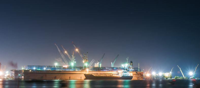 Port of chonburi, container terminals