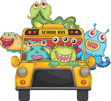 monsters and school