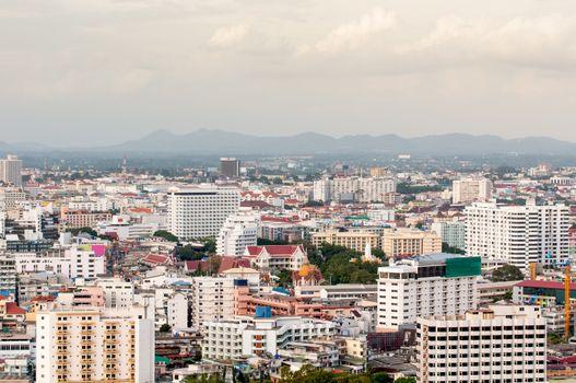 view edifice of pattaya city