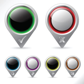 Various pointer icons