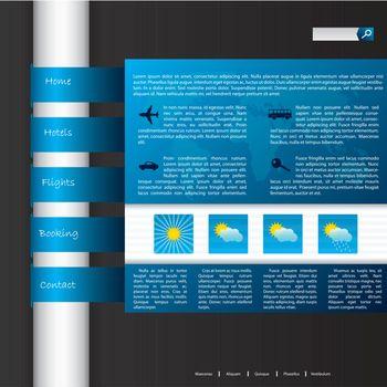 Touristic website design