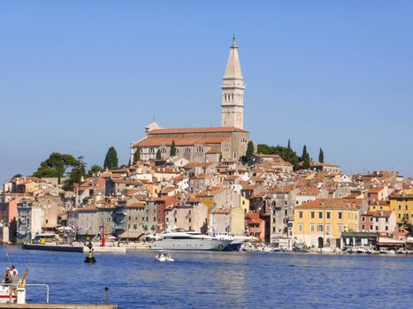 Rovinj, Croatia ��� September, 5: the cobbled streets of Rovinj on September 5, 2013. the streets of Rovinj have been chosen as set for novels by famous writers as Verne and Joyce because of the romantic uniqueness