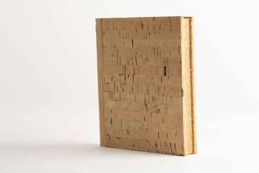 Blank vintage cork book